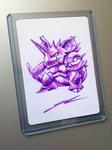Ultra Pen Art - Nidoking - by NurRayArt by NurRayArt