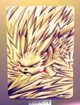 Ultra Pen Art : PIKACHU Z-Move GX : NurRayArt by NurRayArt