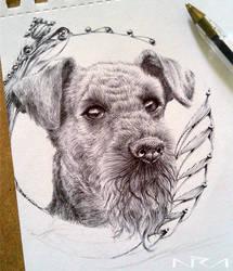 ::: Nur Airedale Terrier ::: by NurRayArt