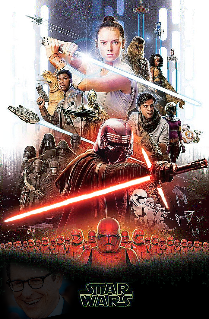 Star Wars The Rise Of Skywalker Official Poster By Nurrayart On Deviantart