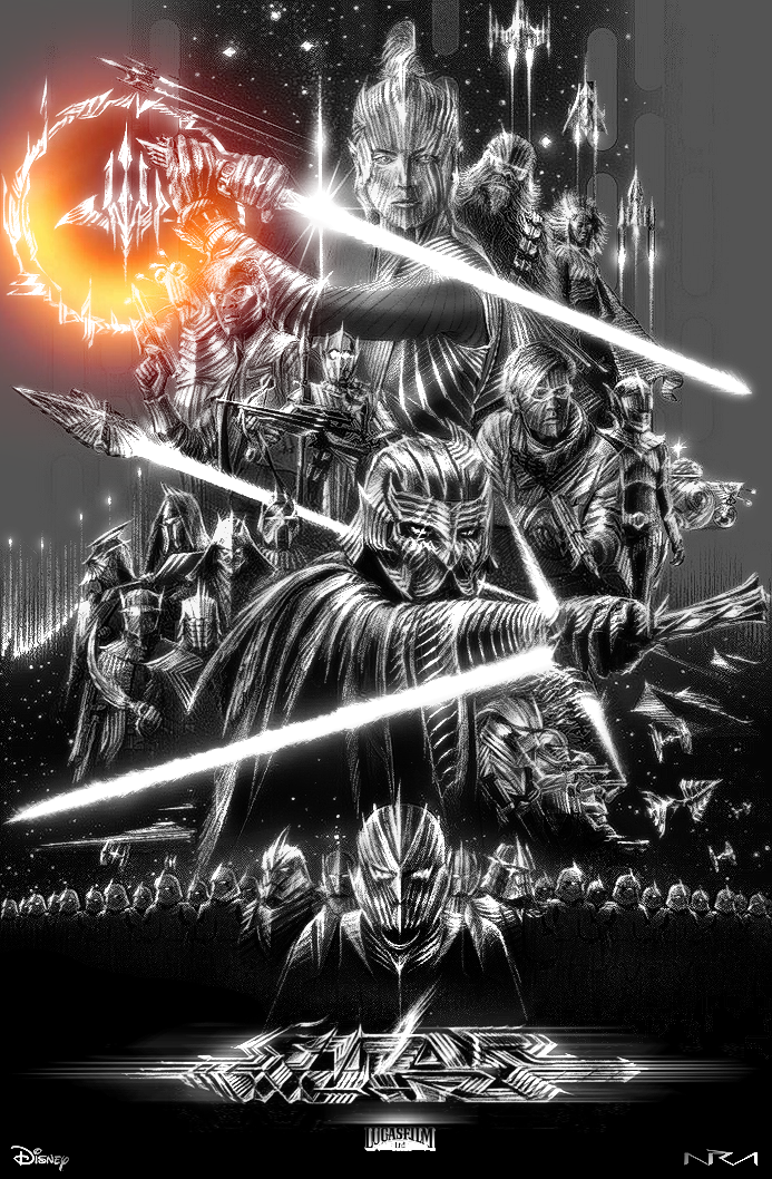 STAR WARS - The Rise of Skywalker | NUREMIX by NurRayArt