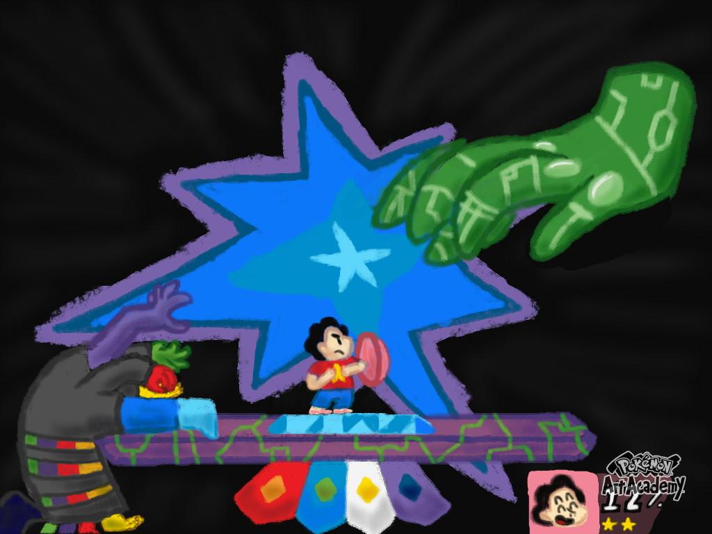 No. 012: Super Smash Steven by ThePokemonLord