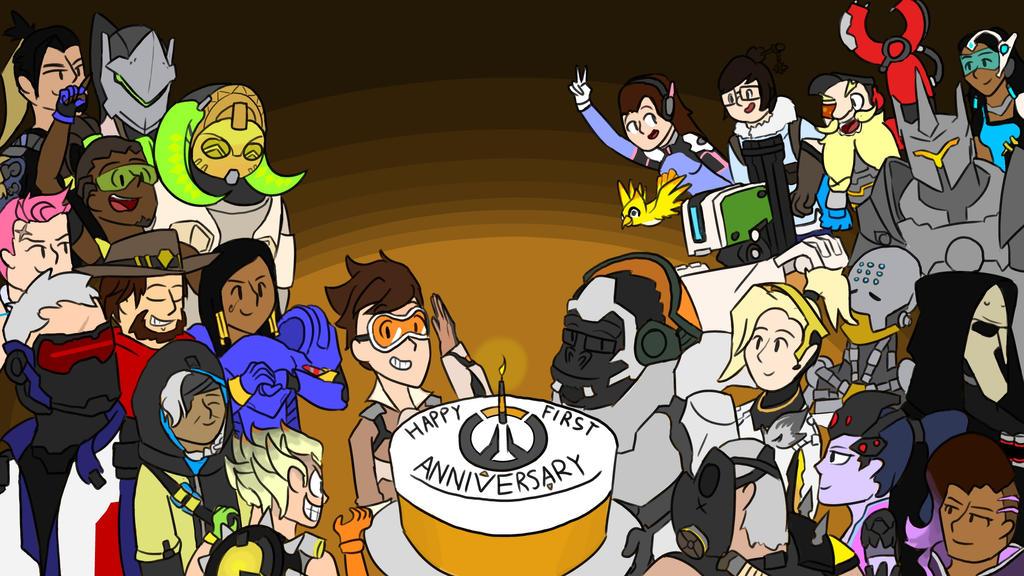 Overwatch Anniversary! by ThePokemonLord