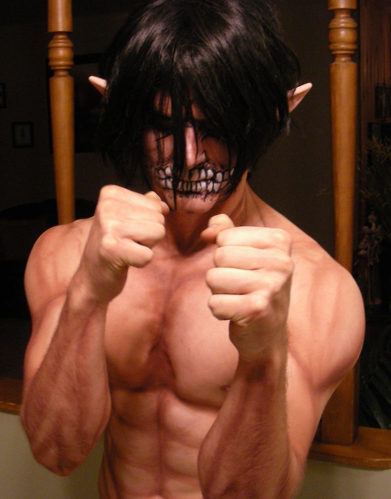 Attack on titan cosplay eren