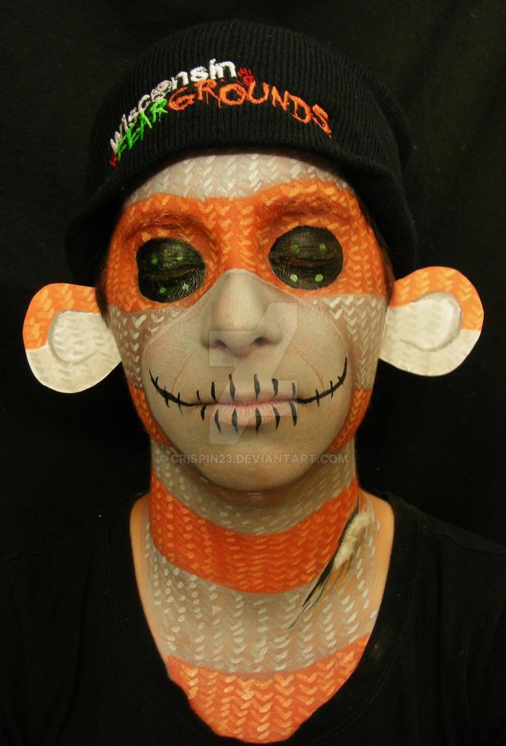 Halloween Sock Monkey : Front by Crispin23