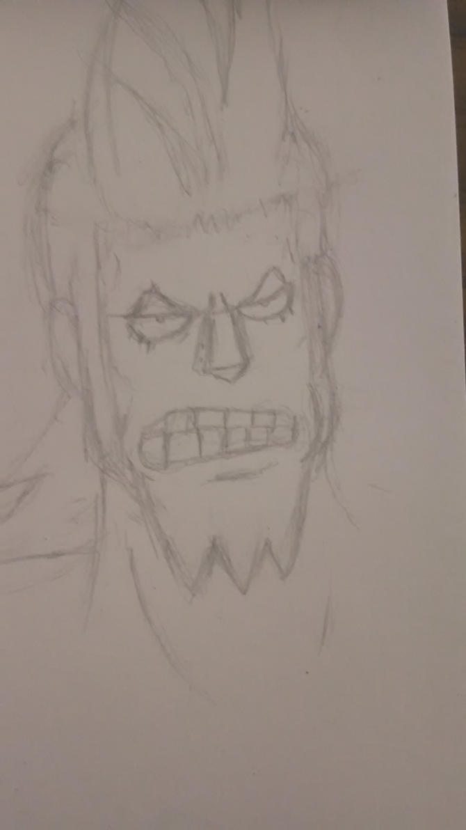 Franky doodle by SquidsInsanity