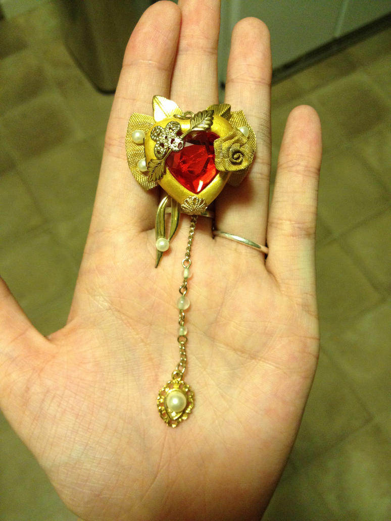 Princess Ai Locket by ContaminatedDisaster