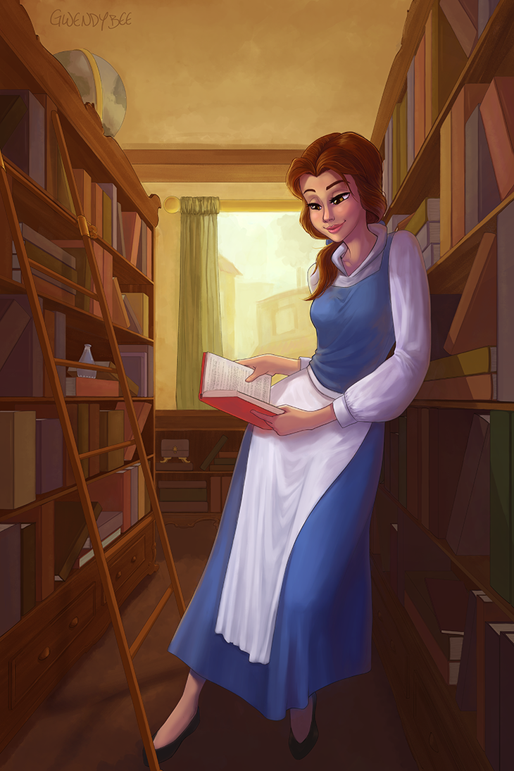 Bookshop Belle by gwendybee