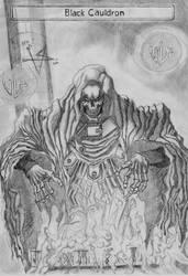 FF7 Black Cauldron FF7 by EvilLestat