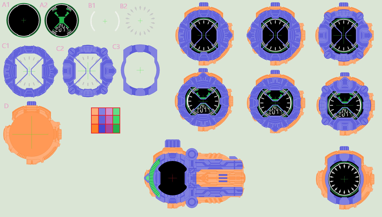 Ridewatch Template by Kamen-Sentai