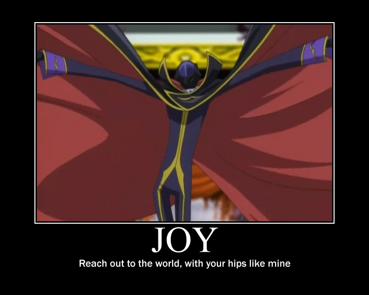Code Geass Motivational Poster by R0LAN