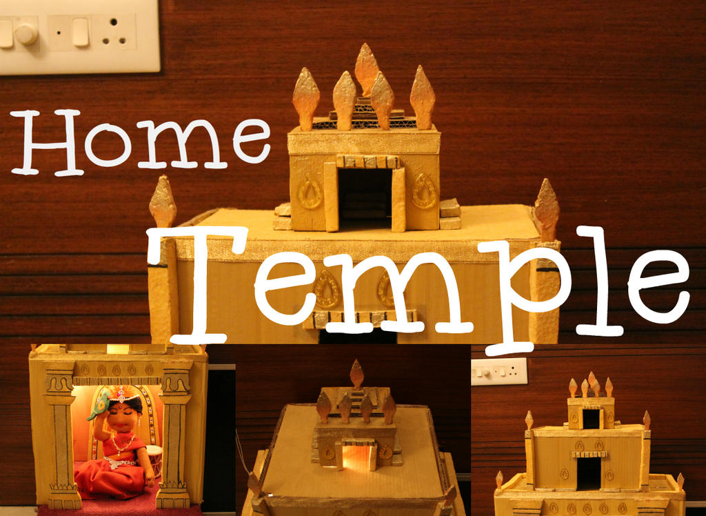 Building a Home Temple by varshapeterpanda