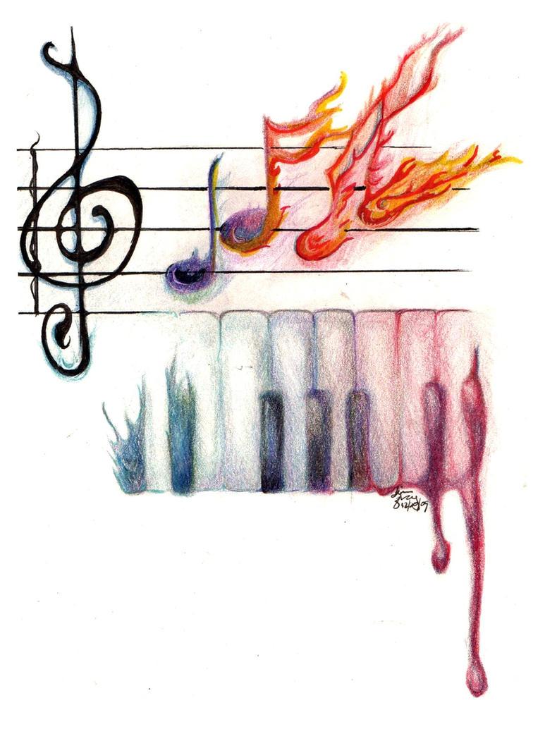 music's life by elfinpirate