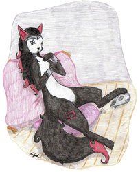 Dark Queen by shadowFuka