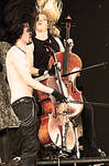 Apocalyptica Rocking Out