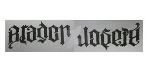 Ambigram tattoo design