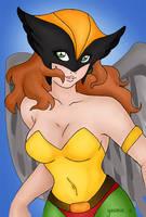 Hawkgirl by arteyas