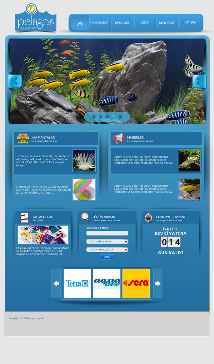 Pelagos aquarium web site by onrckn on deviantart for Site aquarium