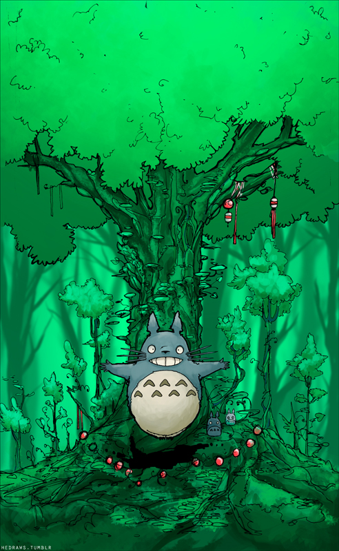 Totoro by Ithilean
