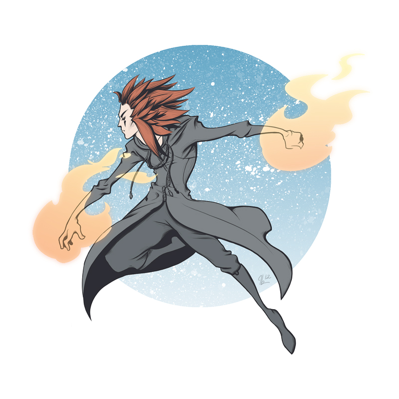 Axel doodle by Ithilean
