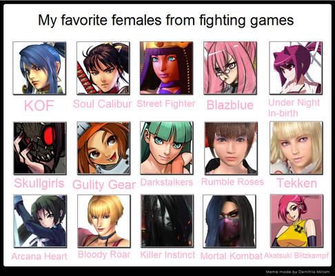 My Favorite Fighting Game Ladies