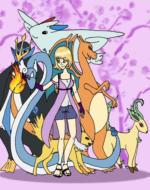 Pokemon Trainer - WIP by krl2432