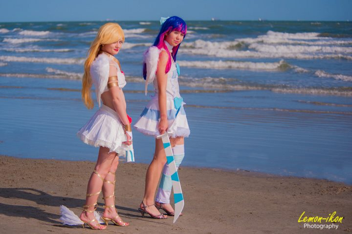 Panty and Stocking Oni-con 2012 by krl2432