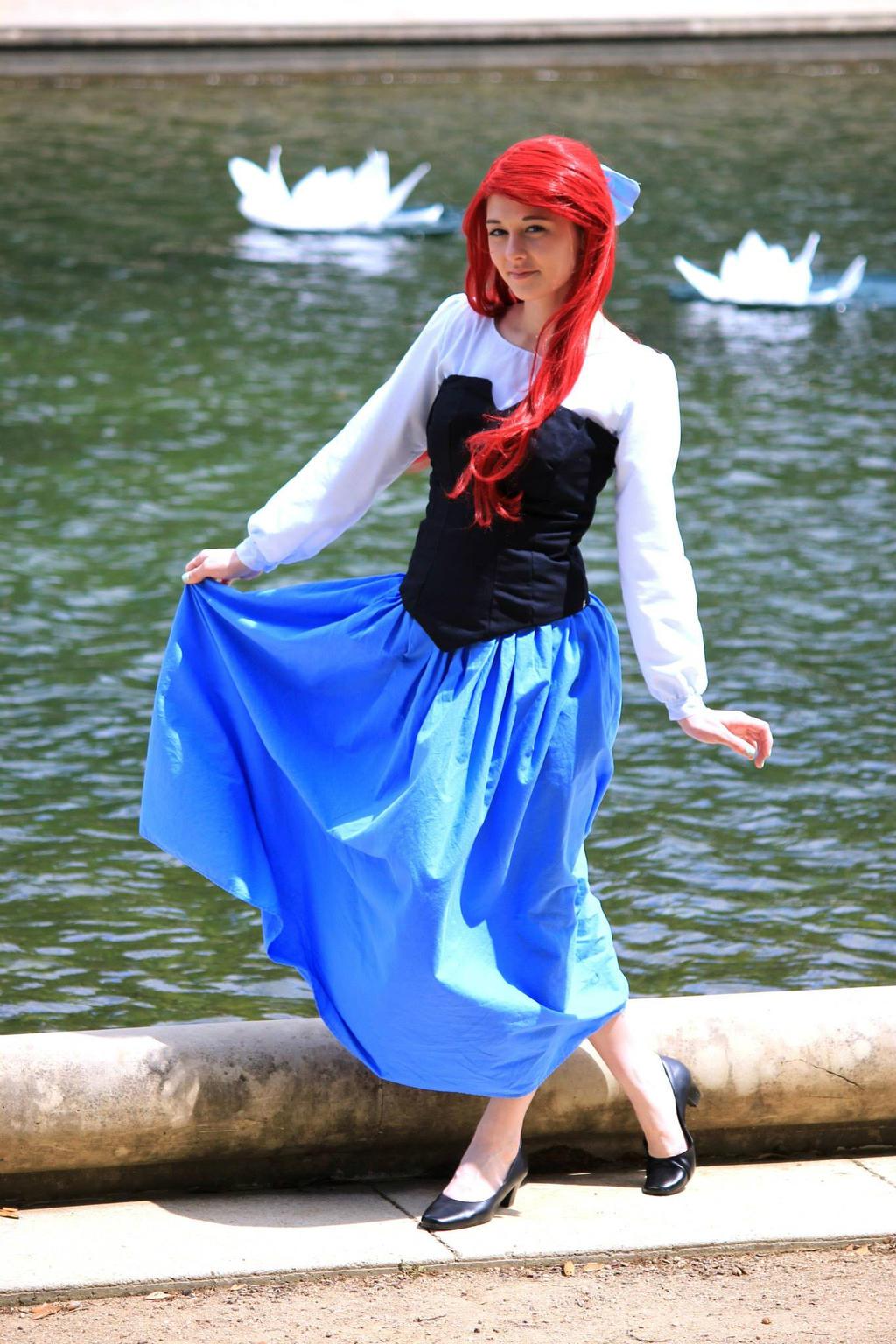 Little Mermaid - Blue Dress by krl2432