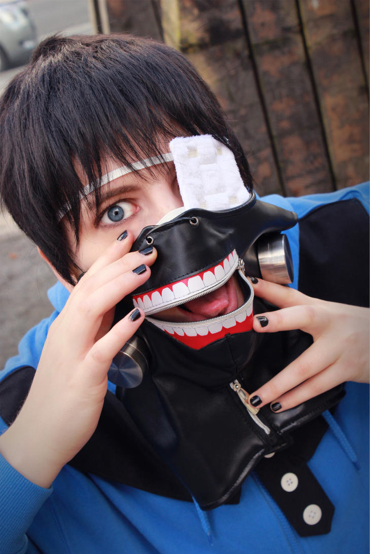 Tokyo Ghoul - I bit you! by Gol-D-Ace