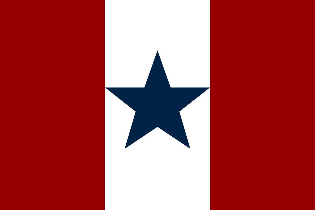 The flag of the Greater American Republic by FerdinandRosenthal
