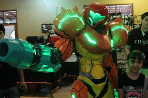 samus aran cosplay