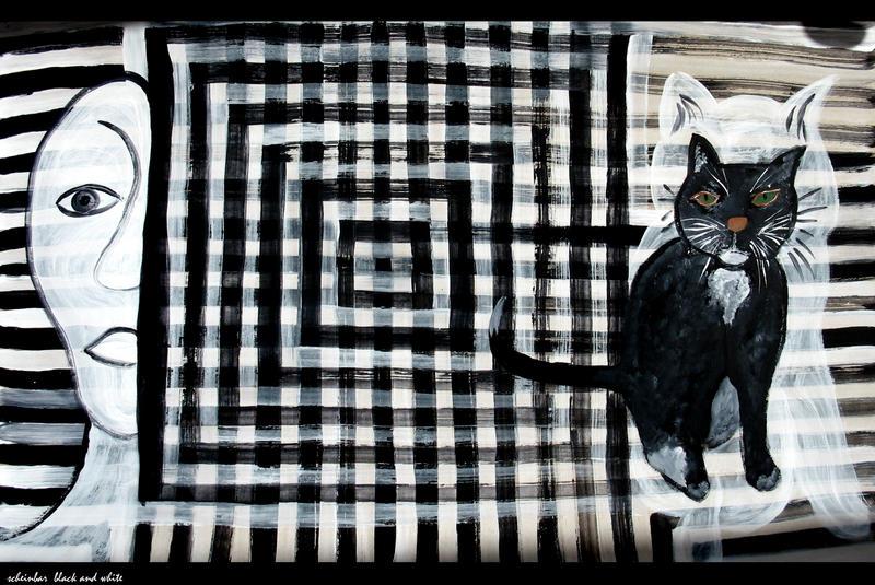 black and white by scheinbar