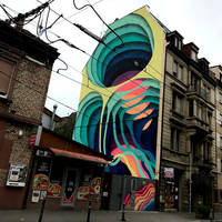 Streetart Mannheim by scheinbar