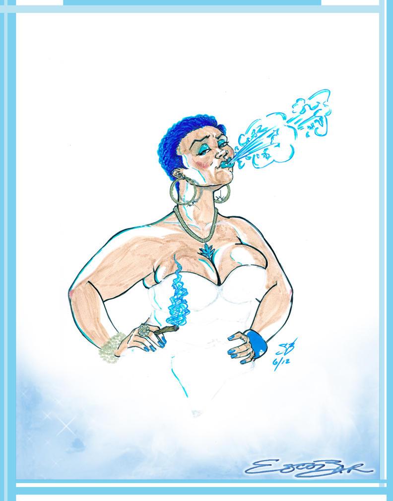 Smoking Hotties: Blue Funk