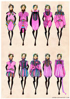 collection 5 pt.3: pink by gremo
