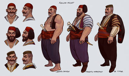 Hakim the Pirate by gremo