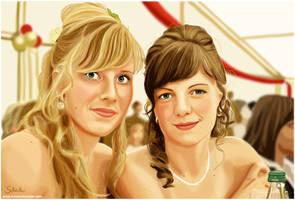 Ulli and Marleen by PinkBunnyLilli