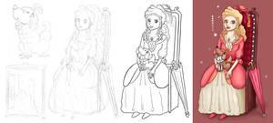 DAC Theme - Rococo girl