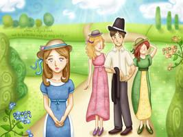 Persuasion - Jane Austen by PinkBunnyLilli