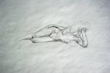life drawing - I by PinkBunnyLilli