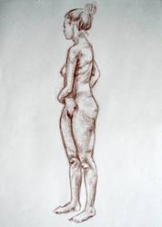 life drawing - III by PinkBunnyLilli
