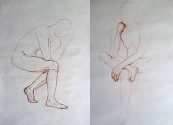 life drawing - V by PinkBunnyLilli