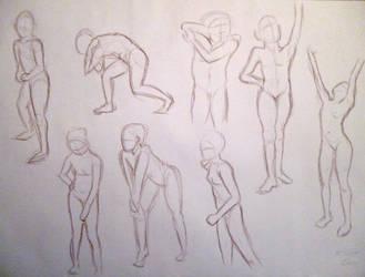 life drawing - VII by PinkBunnyLilli