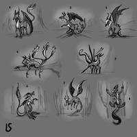 Creature Design Lesson 1 part 3 by PinkBunnyLilli