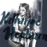 Katharine Hepburn iPad sketch
