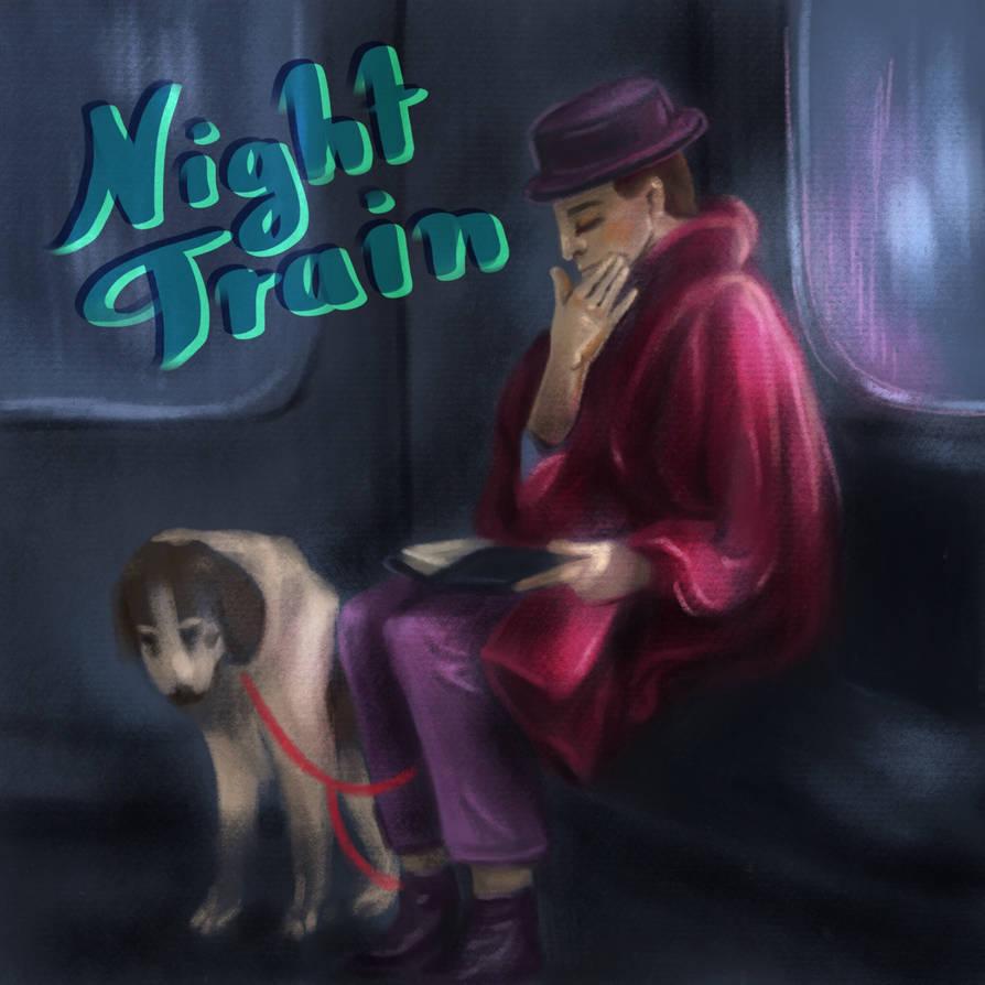 Subway Sketch - Night Train