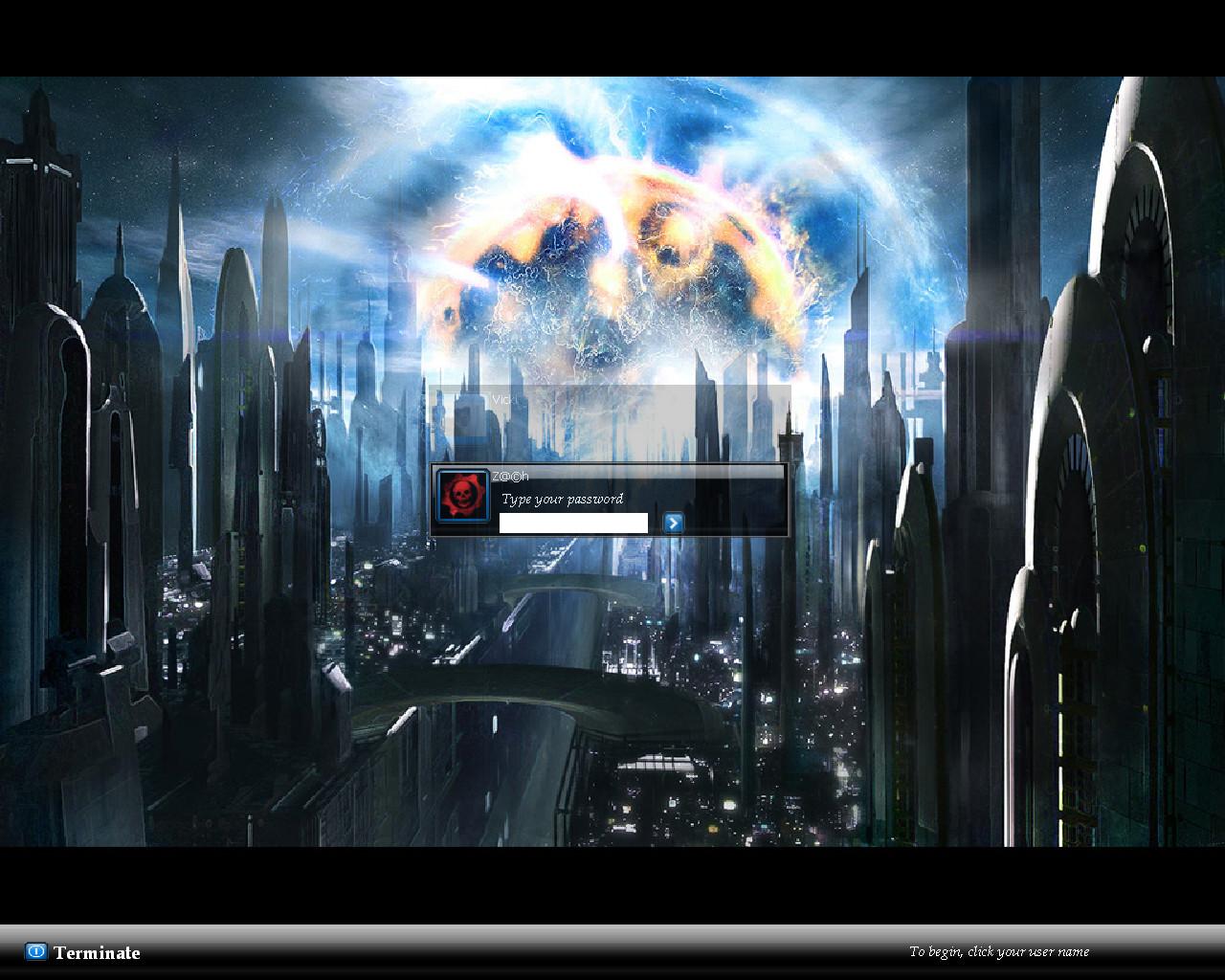 My Logon Screen by Carcin09
