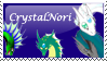 CrystalNori's Stamp by Carcin09
