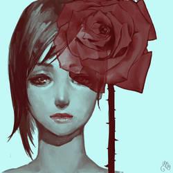 Rose by y-u-k-i-k-o