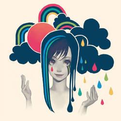 Sun and Rain by y-u-k-i-k-o